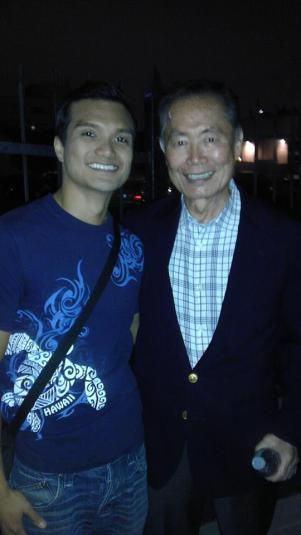 DT Matias and George Takei
